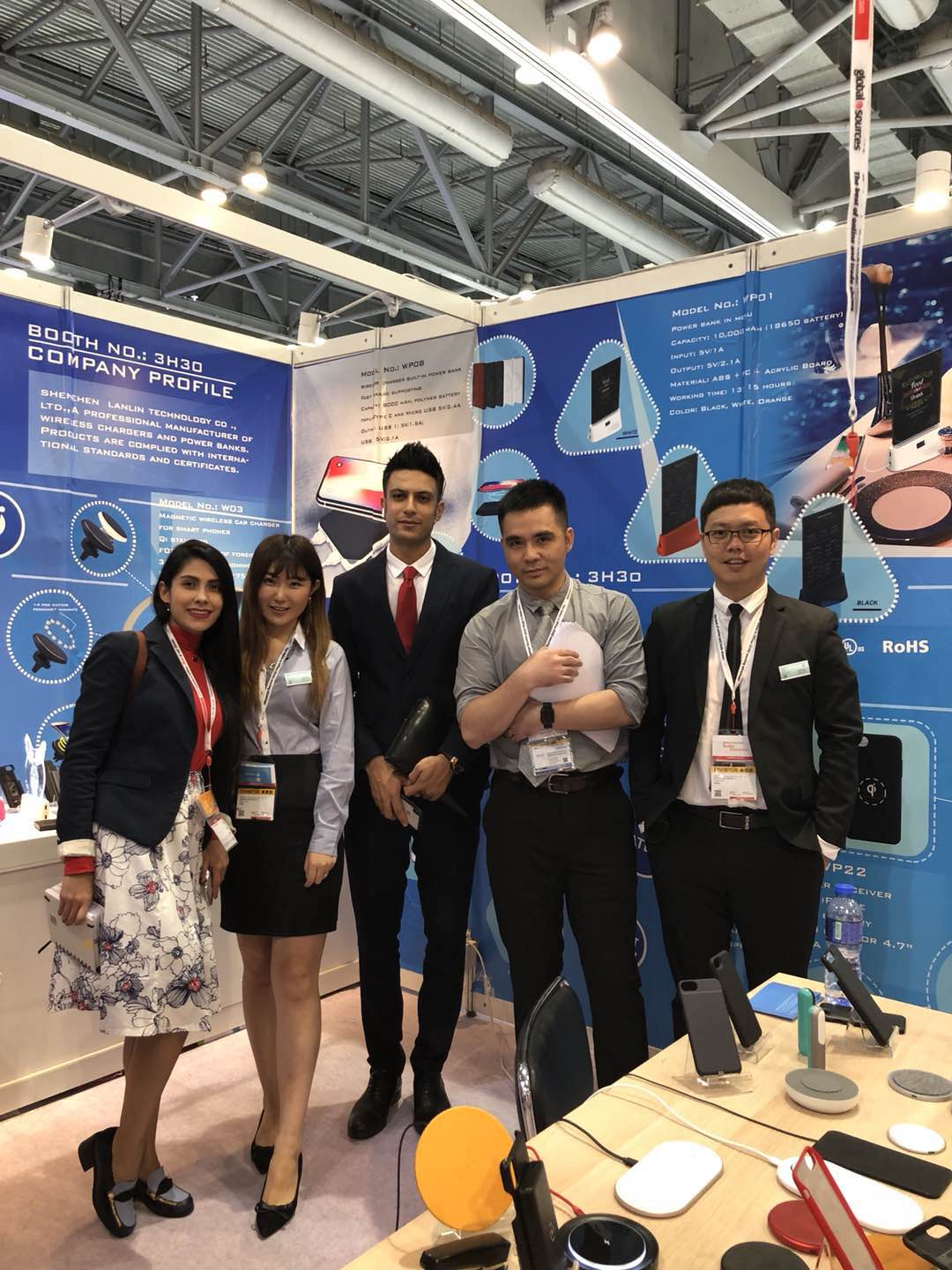 2018 April Global Source Mobile Electronics Fair in AsiaWorld-Expo